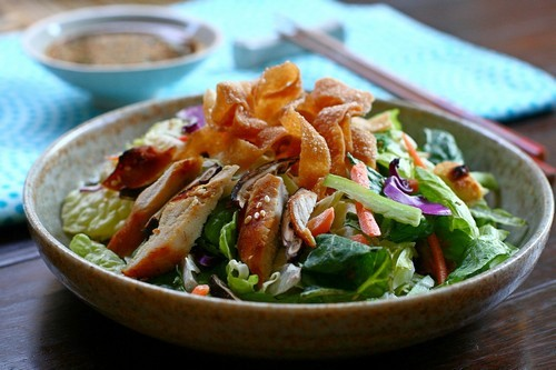 Healthy Chinese Chicken Salad | BeLiteWeight | Weight Loss Services