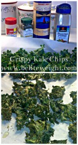 Crispy Kale Chips - A Healthy Recipe | Kale is high in iron, vitamins and fiber. Enjoy these crunchy chips as a weight loss snack! - BeLiteWeight