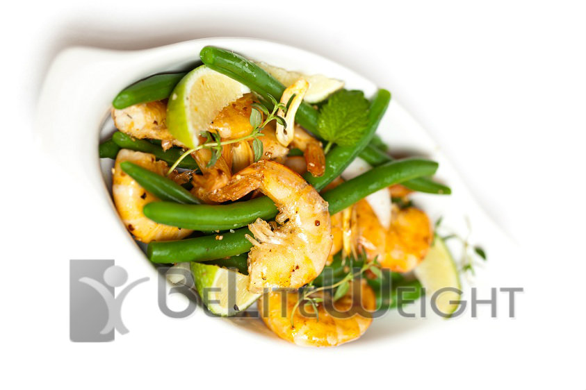 Cilantro Lime Shrimp and Green Beans|BeLite Weight|Weight Loss Recipes