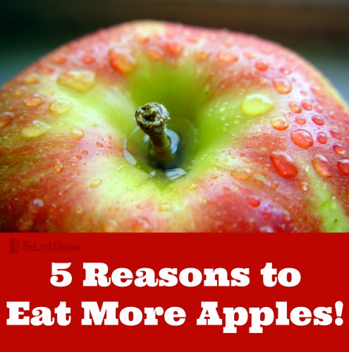 5 reasons to eat more apples! weight loss nutrition tips health