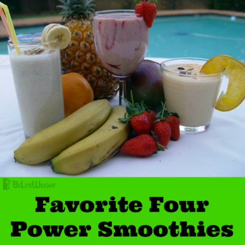 favorite four smoothies superfoods kale pineapple rasberry cocoa vsg weight loss surgery recipe