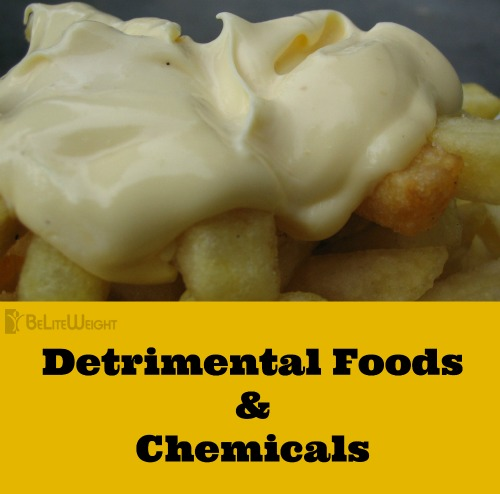detrimental foods and chemicals sugar simple carbs processed foods