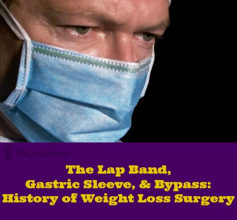 hitosry of weight loss surgery wls vertical gastric sleeve bypass lap band