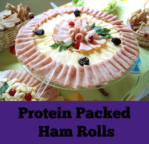 protein packed ham rolls vsg gastric surgery sleeve keto