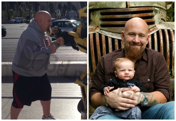 Sean Before and After Gastric Sleeve Surgery