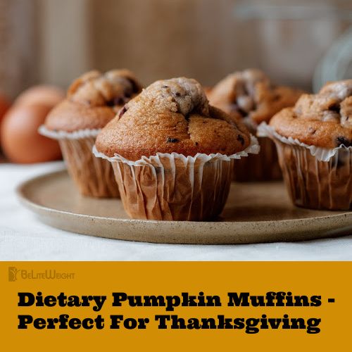 Dietary Pumpkin Muffins - Perfect For Thanksgiving