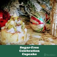 Sugar Free Celebration Cupcake