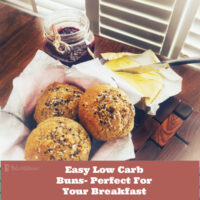 Easy Low Carb Buns- Perfect For Your Breakfast