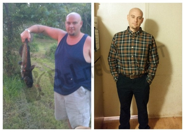 Joe - Before and After Weight Loss Surgery